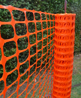 Orange Safety Fence